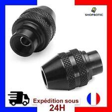 2 Universel Mandrin Autoserrant 0,4 à 3,4mm Multi Changement Rapide Pour Dremel