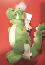 "Disney 8"" Elliott Bright Green Dragon from Pete's Dragon Bean Bag Beanie w/tags"