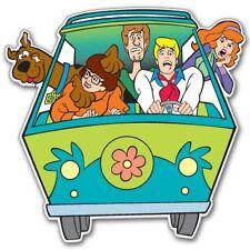 "Scooby Doo MiniVan Vynil Car Sticker Decal   7"""