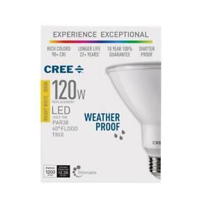 CREE LED Bulb Spot Flood Light Dimmable Lighting Indoor Outdoor 120 Watt PAR38