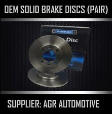 PREMIUM REAR DISCS RS3647 FOR AUDI A4 2.0 TD 2004-08