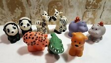 Fisher Price Little People Noah's Ark Hippo, Panda, Zebra, Croc, Lion, Leopard