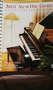 ALFRED'S Basic ADULT ALL-IN-ONE Piano Course Book, Level 1