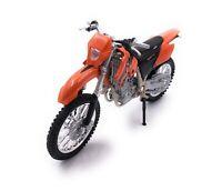 Modellino Auto KTM 525 EXC Enduro Moto Bike Modello Scala 1:18