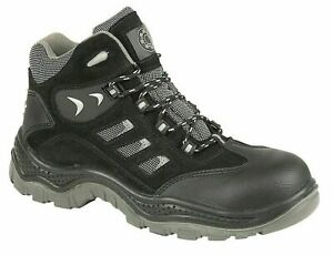 4114 Black Himalayan Composite Safety Boots Size 9