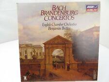 Bach Brandenburg Concertos Benkamin Britten LP Record Album Vinyl