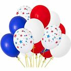 Fourth Of July Balloons,Independence Day Patriotic Decorations Red Blue White 61