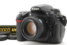 【Exc+5】Nikon D300 12.3MP DSLR Camera w/ AF NIKKOR 50mm f1.4D From Japan #642