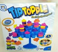 Stacking Game Tip Topple SKILL Balance Educational Toy 2-4 Players 3 ways 2 Play
