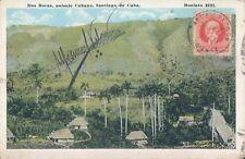 CUBA Dos Bocas Santiago de Cuba 1921 PC
