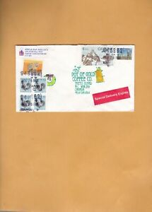 Canada 1988  VANCOUVER BC  SPECIAL DELIVERY  COVER  TO THETIS ISLAND  BC