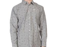 MATIX Katana Woven Shirt (L) Gray Chambray