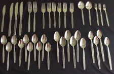 Stanley Roberts Rogers Co. stainless La Spania La Spana mixed lot of 37 pieces
