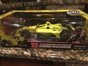 Simon Pagenaud 2019 Indy 500 Champion GreenLight 1:18 Indy Car Figure Figurine