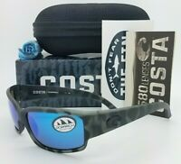 NEW Costa Caballito Ocearch Sunglasses Tiger Shark Blue Mirror 580G AUTHENTIC