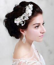 Braut Hochzeit Diadem Tiara Krone Haarschmuck Blüte Blume Schmuck Haargesteck