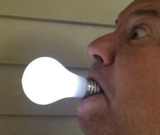 Deluxe PUSH BUTTON LIGHT UP BULB In Mouth LED TV Family Show Costume Uncle Prop