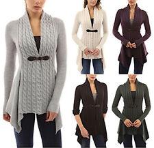 Maglione Maglia Asimmetrico Donna Woman Asymmetric Sweater WOL003 P