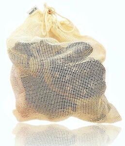 Cotton Laundry Bag Washing Machine Underwear Bra Socks Large Size Plastic Free