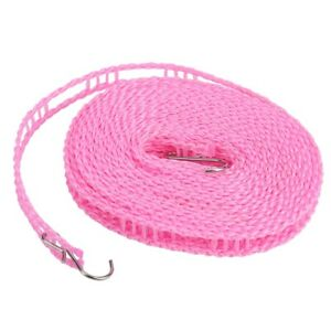 Portable Outdoor Clothes Washing Line Clothesline Anti-skid Laundry Drying Rope