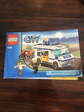 Lego Town City Police Set 7286 Prisoner Transport 100% complete no box