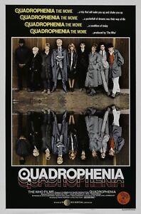 Quadrophenia movie poster A4 Size