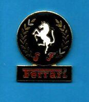 Pin's Pins lapel Pin enamel  F1 FORMULA ONE Logo Emblème SCUDERIA FERRARI EGF