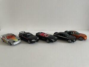Matchbox Japanese Sports car Bundle - Rx7 x2, Mitsubishi 3000gt, 300zx And Supra