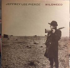 JEFFERY LEE PIERCE- WILDWEED LP- RARE 80'S INDIE-GUN CLUB-ORIGINAL STATIK LABEL