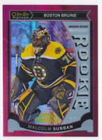 15-16 OPC Platinum Malcolm Subban 149 Rookie RED PRISM Vegas Golden Knights 2015