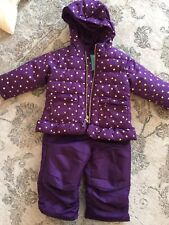 Baby Girl Snow Suit Pants And Jacket Size 12 Months