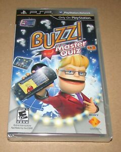Buzz! Master Quiz (Sony PSP) Brand New / Fast Shipping