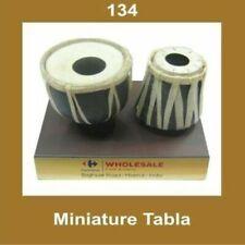 New Vintage Miniature Tabla Tambourine Home Office Decor Collectables ECs