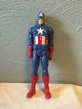 "MARVEL LEGENDS CAPTAIN AMERICA 12"" FIGURINE-HASBRO, 2013-EX. CONDITION"