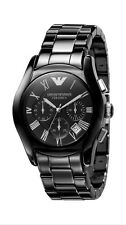 NEW EMPORIO ARMANI MENS WATCH! AR 1400 CERAMICA! £84.99! FREE POSTAGE WITHIN UK!