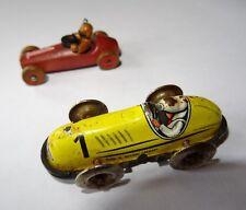jouet ancien - deux petites voitures