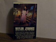 WAYLON JENNINGS -- Never Could Toe The Mark (CASSETTE TAPE / RCA 5017) LIKE NEW