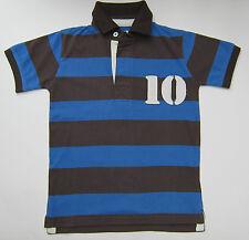 Boden Niños Número Polo Top Rugby camiseta 100% Algodón Edad 1-14