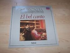 MUSICALIA 40 - EL BEL CANTO LP  london 416 539-1 (rossini, donizetti,bellini)