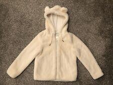 Girls Lemonade Designer Coat, Aged 8, Cream