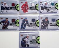 2014-15 Upper Deck Series Two Rookie Materials Lot (7 Cards) CLEARANCE No Dupes
