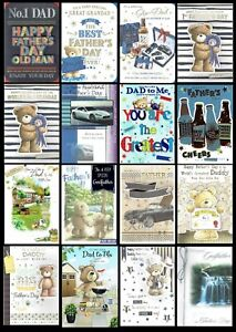 Quality  FATHER'S DAY CARD ~ Various Titles and Designs Something For Everyone
