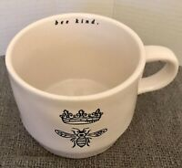 Rae Dunn By Magenta Bee Kind Icon Crown Ceramic Tea Coffee Mug Cup