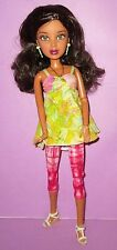 LIV Doll Discontinued Alexis Schools Out Green Eyes Brunette Wig OOAK or Play!