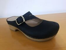 Dansko Britney Black Burnished Nubuck Women's Mule - NEW -  Choose Size