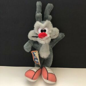 Vintage 1990 Ace Novelty Warner Bros Tiny Toons Adventures Calamity Coyote w Tag