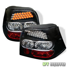 99-06 GOLF/R32/GTI MK4 LED REAR TAIL LIGHTS LAMPS BLACK