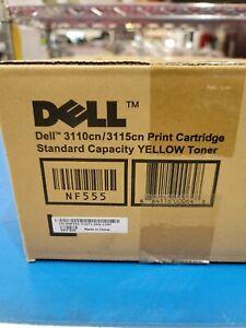 Dell Genuine NF555 YELLOW Standard Yield Toner Cartridge - 3110cn 3115cn - New