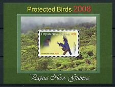 Papua New Guinea 2008 MNH Protected Birds Palm Cockatoo 1v S/S Stamps