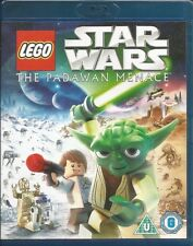 Lego Star Wars The Padawan Menace Blu-Ray FREE SHIPPING